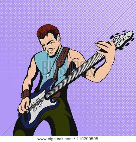 Rock musician comics