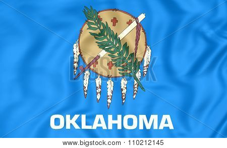 Flag Of Oklahoma, Usa.