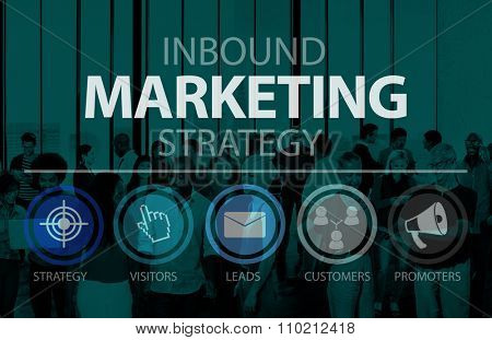 Inbound Marketing Marketing Strategy Commerce Online Concept