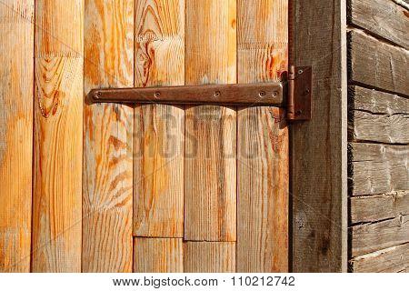 Door Of The Old Barn