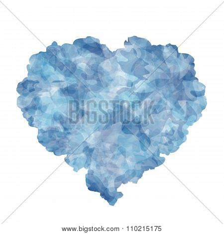 Abstract heart for Invitation or congratulation
