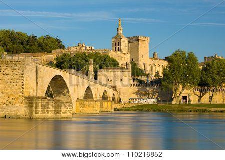 Avignon In A Summer Evening
