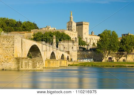 Avignon In A Sunny Summer Day