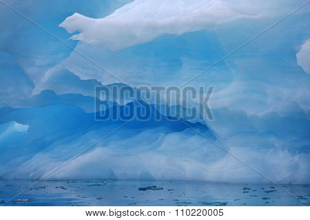 Iceberg background