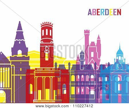 Aberdeen Skyline Pop