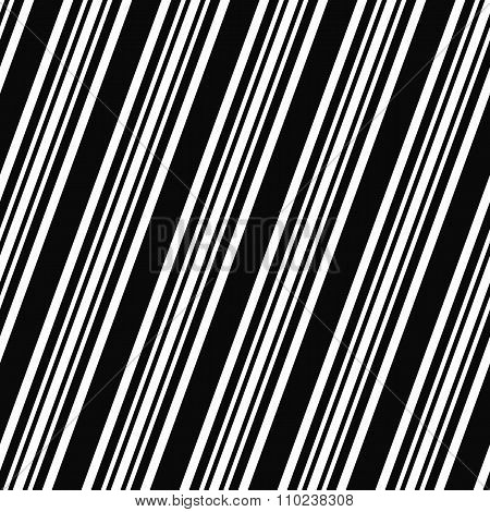 Black white seamless angular line pattern