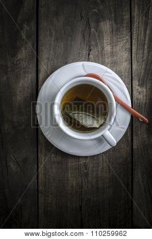 Cup Of Winter Herbal Tea