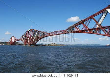 Blue sky Over Forth