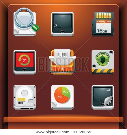 System tool icons