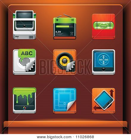 System tools icons