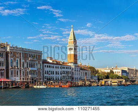 Campanile Di San Marco In Venice
