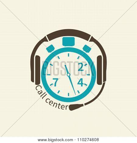 Call Center Icon.