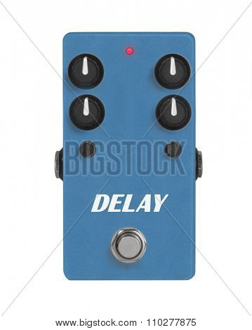 Guitar Effect Pedal - Stomp box -  Delay