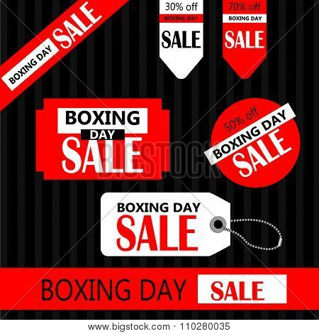 Boxing day Retail Tags