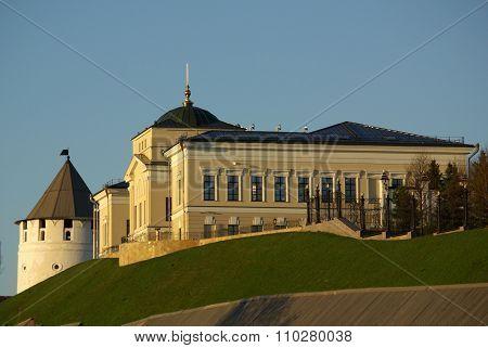 View Of The Kazan Kremlin