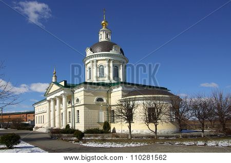 Kolomna, Russa - April, 2014: Cathedral Of The Archangel Michael In Kolomna