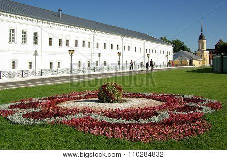 Kolomna, Russia - Jule, 2014: Great Monasteries Of Russia. Novo-golutvin Holy Trinity Monastery