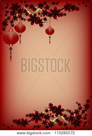 Holiday Greeting Postcard To Chinese New Year