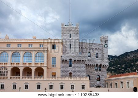 Prince's Palace Of Monaco - It Is The Official Residence Of The Prince Of Monaco