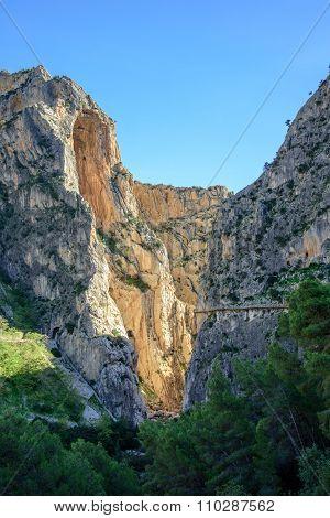 Caminito Del Rey Canyon