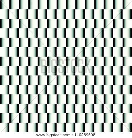 Squares With Gradient Fills, Repeatable Pattern. Vector.