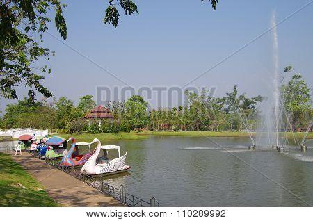 Phra Ruang Hot Springs, Kamphaeng Phet
