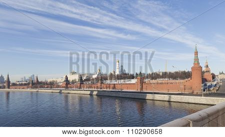 Moscow, Kremlin Embankment