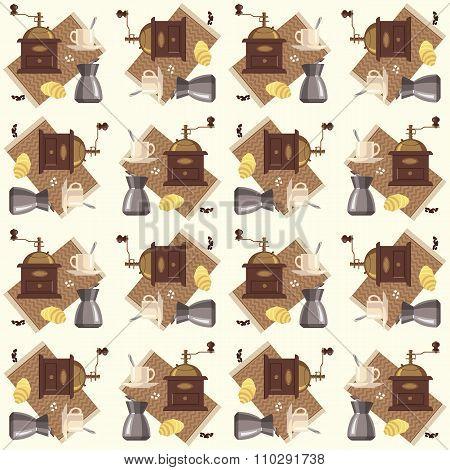 Coffee pattern.