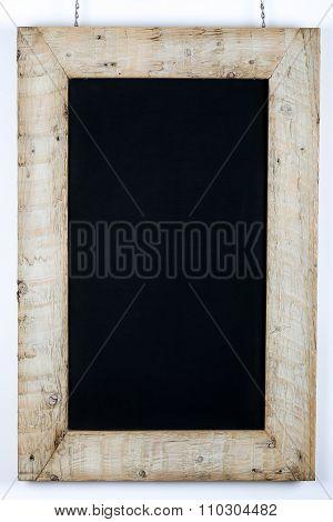 Chalkboard Blackboard Reclaimed Wood Frame Decoration