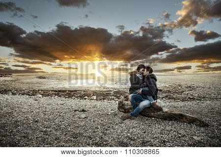 Couple Having A Romantic Date