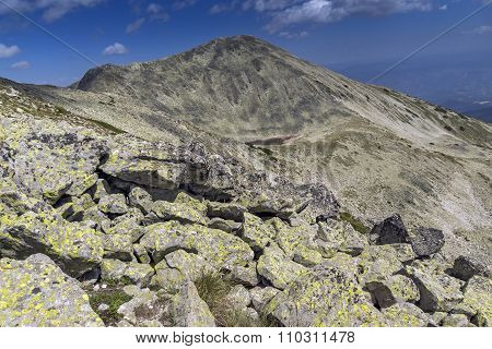 Polezhan peak and Upper Polezhansko lake