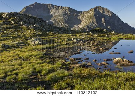 Kamenitsa and Kamenishka Kukla Peaks, Pirin Mountain