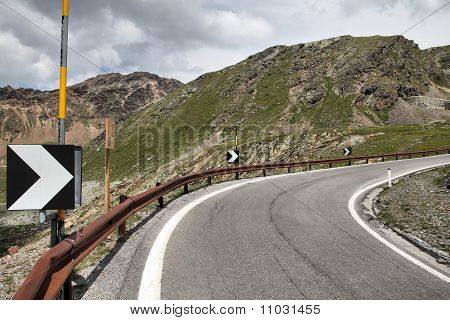 Italy - Mountain Road