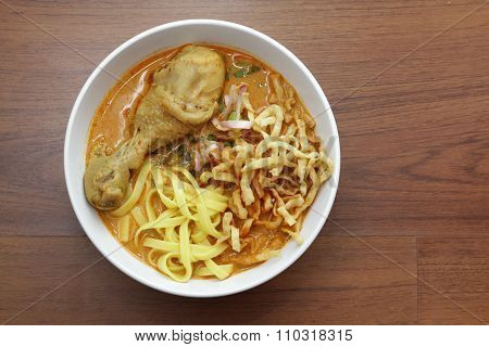 Curry Noodle With Chicken