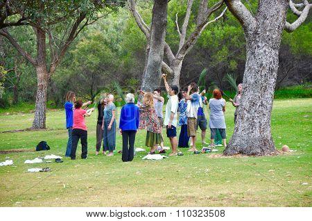 Ceremonial Gathering: Ritual in Nature