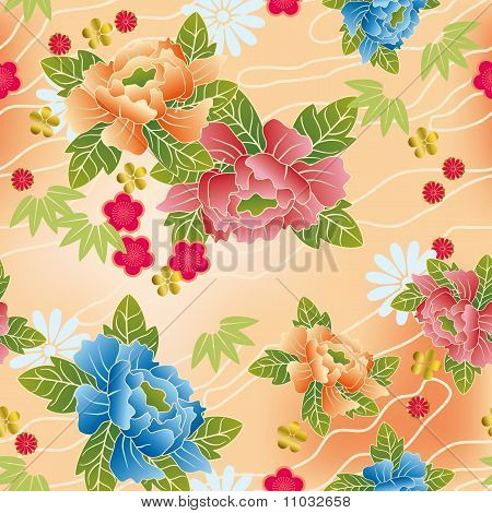 Seamless japanese traditional pattern