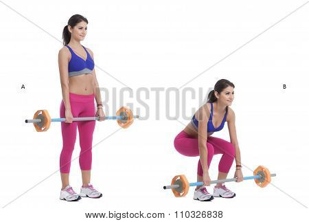 Front Barbell Deep Squat