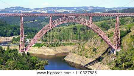The Garabit Viaduct.