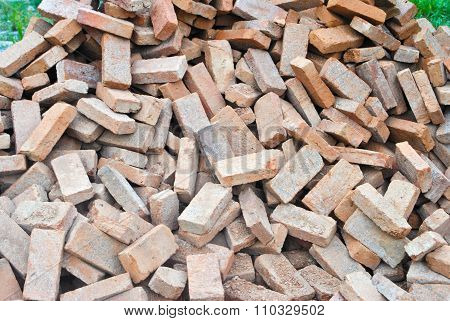 Heaps Brick Construction materiel for Construction