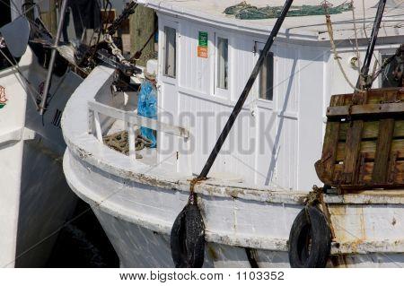Stock Of Shrimp Boats