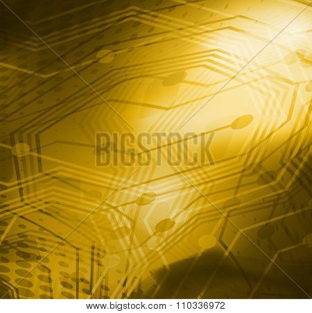 gold background with line for your text