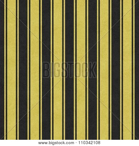 Yellow And Black Striped Tile Pattern Repeat Background
