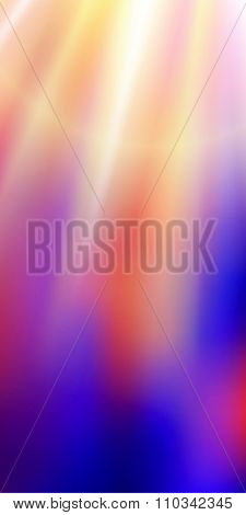 Purple Gradient Blur Rays Down A Vertical Banner