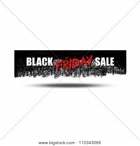 Set Of Black Friday Sale Cards Or Banners.