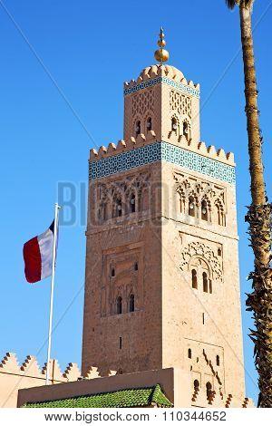 History   Maroc Africa  Minaret   Flag