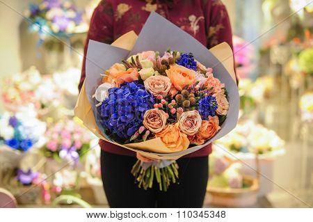 Bouquet Of Beautiful Summer Flowers