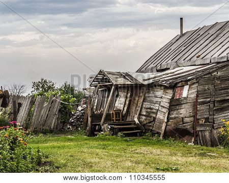 Part Of An Old Farmhouse