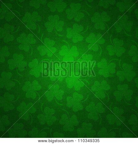 Clover background for St. Patricks Day