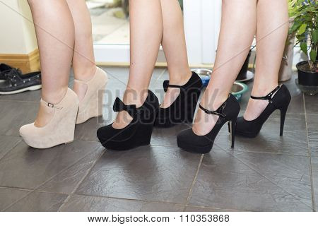 Best Friends In There High Heel