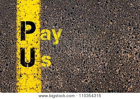 Accounting Business Acronym Pu Pay Us